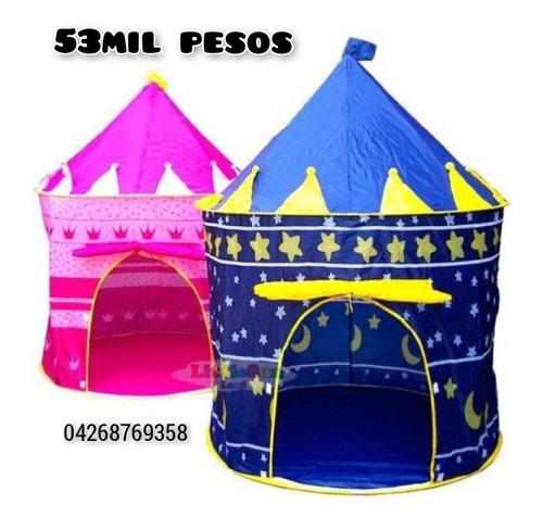 Imagen 1 de 4 de Carpa Castillo Para Niños Y Niñas