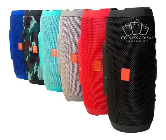 Caixa De Som Portatil Charge 3 Bluetooth Sd E Pen Drive Jbl