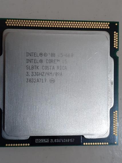 Processador Intel Core I5-660 3.3ghz 4m + Cooler