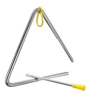 Triangulo De Metal 5 Pulgadas Percusión Parquer