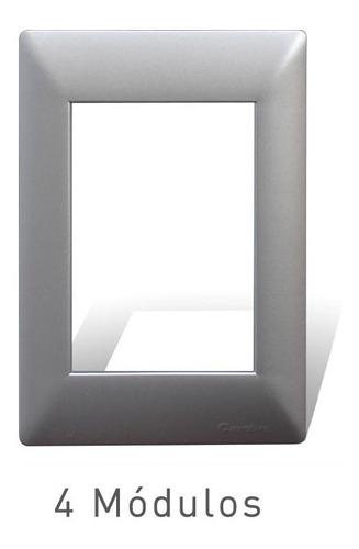 Imagen 1 de 4 de Cambre Tapa 4 Módulo Aluminio Siglo Xxii 4104