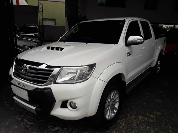 Toyota Hilux Srv 3.0 Dupla Top 4x4 2015 Branco Revisada