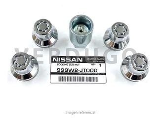Tuercas De Seguridad Antirrobo Nissan 370z - Original