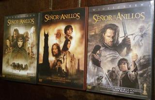 Dvd Trilogía El Señor De Los Anillos - ¡6 Discos! Original