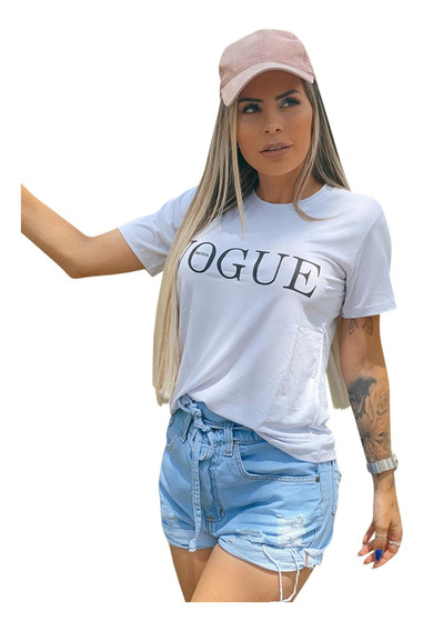 Camiseta Blusinha Fem Vog