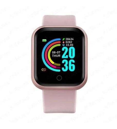 Imagen 1 de 8 de Reloj Inteligente Smartwatch Y68 / D20   Resistente Al Agua