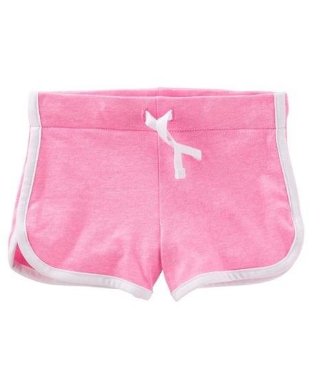 Short Color Rosa Chicle Niñas Talle 3 Años Carters