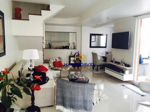 Apartamento Com 3 Dormitórios À Venda, 130 M² Por R$ 1.951.000,00 - Bela Vista - São Paulo/sp - Ap3656