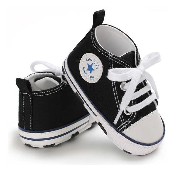 Sapatinho Para Batizado / Tenis Para Bebês All Star Baby