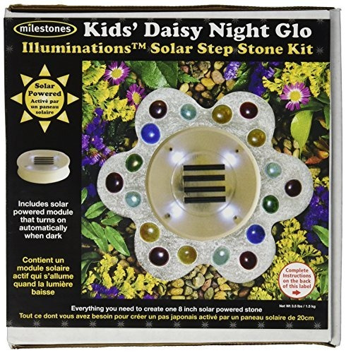 Midwest Products Illuminations Kit De Piedra Solar, Niños Da
