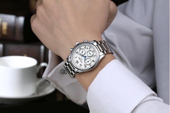 Relógio - Ailang - Original - Cristal Safira - Em Estoque