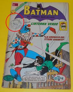 Ccc21 Editorial Novaro Batman Linterna Verde #1 1972