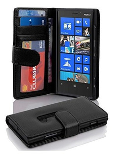 Funda La Caja De Libro Cadorabo Funciona Con Nokia Lumia 92