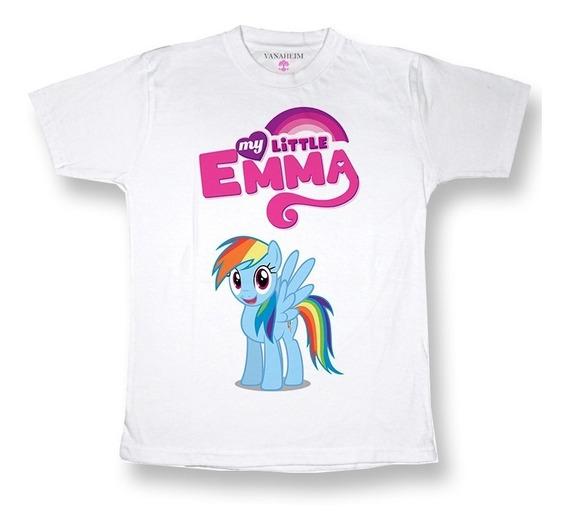 Remera My Littlepony Equestria Personalizada Con Nombre!