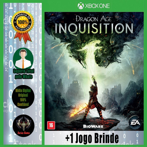 Dragon Age Inquisition Xbox One Midia Digital +1 Jogo Brinde
