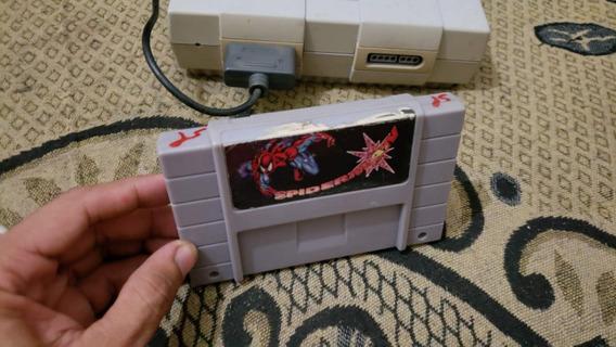 Spiderman Para O Super Nintendo Funcionando 100% B3