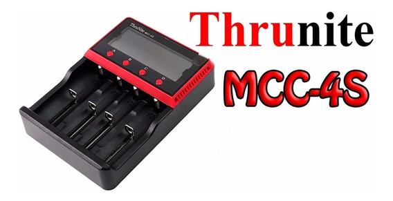 Carregador De Bateria Thrunite Mcc-4s 18650 26650 Rcr123a