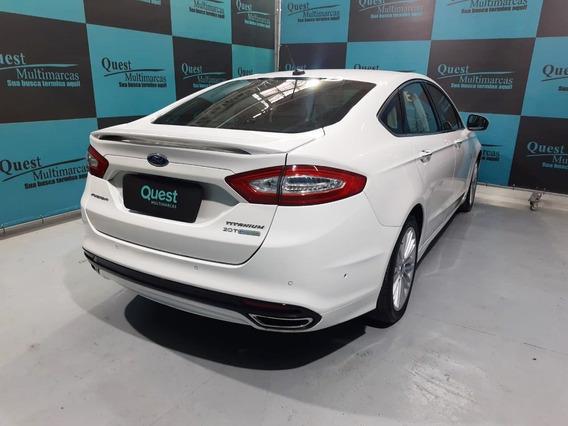 Ford Fusion Titanium 2.0 Gtdi Eco. Fwd Aut. - Branco - 2...