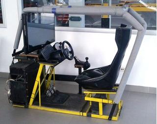 Simulador De Manejo Completo Comercial Pc Tc 2000 G27 Full