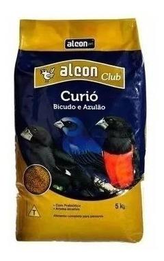 3 Ração Alcon Club Curió 5 Kg Curió Bicudo Azulão