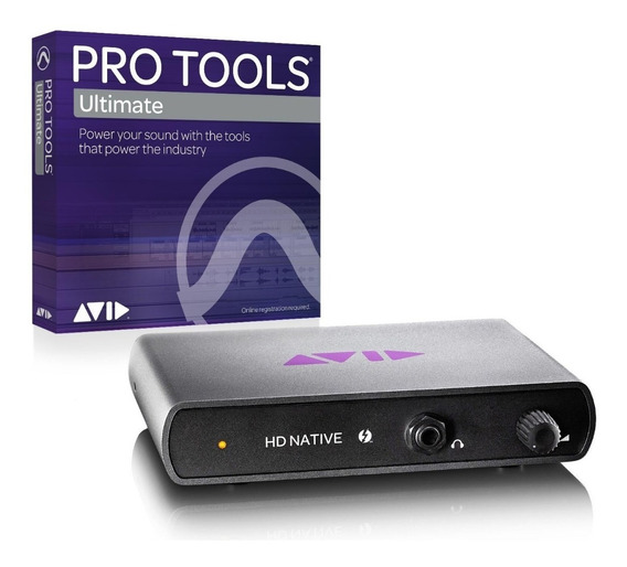 Pro Tools Hd Native Thundebolt + Pro Tools 2019 Ultimate