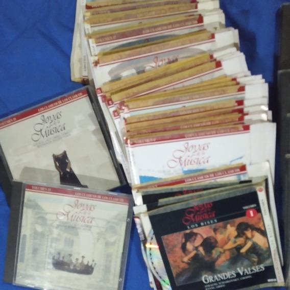 Lote 50 Cd Joyas De La Música Colección Revista Noticias