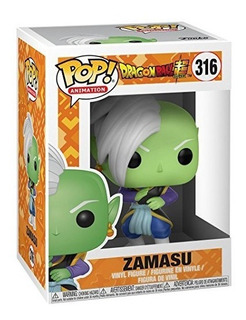 Funko Pop Zamasu #316 Dragon Ball Super Jugueterialeon