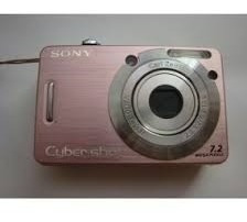 Camêra Fotográfica Sony Cybershot Dscw55 7.2mpp Sem Bateria