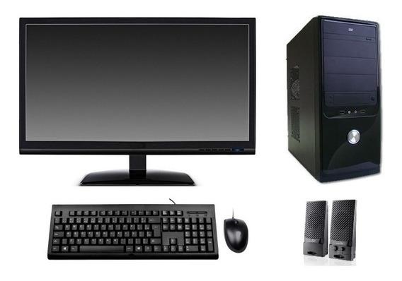 Computador Completo Core I3 4gb Hd 500gb Dvd Wifi Monitor 19