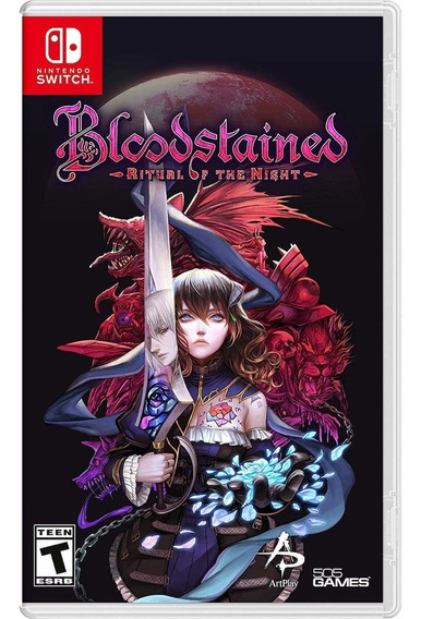 Bloodstained Ritual Of The Night - Switch Lacrado