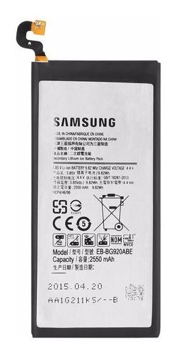 Bateria Pila Samsung Galaxy S6 Original Tienda