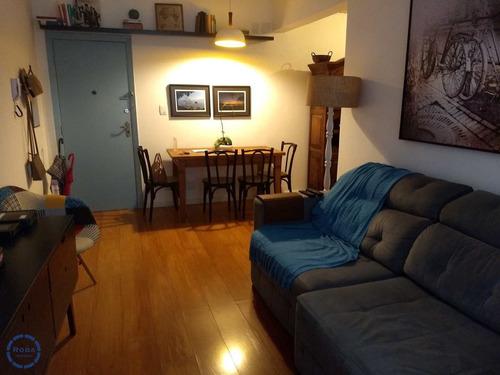 Apartamento Com 1 Dorm, Ponta Da Praia, Santos - R$ 360 Mil, Cod: 16795 - V16795