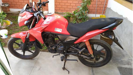 Honda Cb 110 Roja