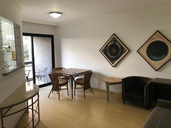 Apartamento Em Vila Olímpia, São Paulo/sp De 55m² 1 Quartos À Venda Por R$ 850.000,00 - Ap273917