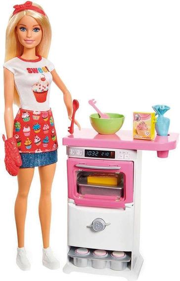 Barbie Cozinhando E Criando Chefe De Bolinhos Mattel