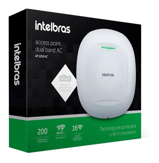 Roteador Wifi Ac Corp Ap 1210 Ac Até 200 Usuários Intelbras