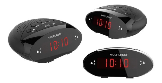 Radio Relógio C/ Função Beckup Digital Lançamento - Sp288