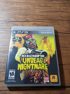 Red Dead Redemption Undead Nightmare Playstation 3 Ps3 !!