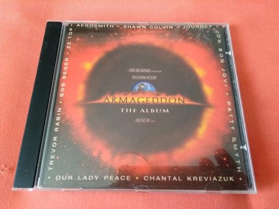 Cd Trilha Sonora Do Filme Armageddon, Perfeito Estado!!!