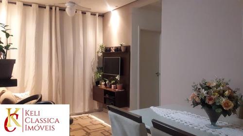 Imagem 1 de 13 de Vende-se Apartamento Com 48m² No Condomínio Parque Royal Garden Em Ribeirão Preto-sp, Com 2 Dormitórios, 1 Vaga De Garagem, Sala Com 2 Ambientes - Ap00496 - 69367491
