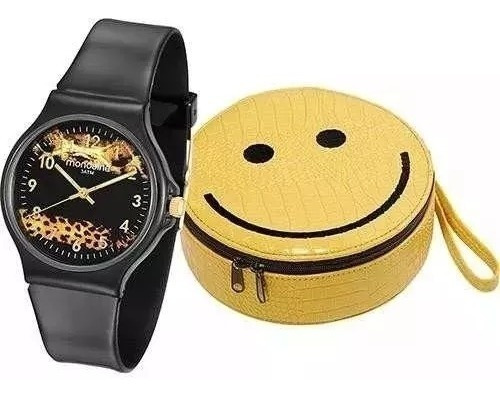 Relógio Feminino Mondaine Fashion 46103l0menp1k2 + Bolsa