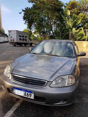 Honda Civic  Sedan Lx 1.6 16v (aut) Gasolina Automático