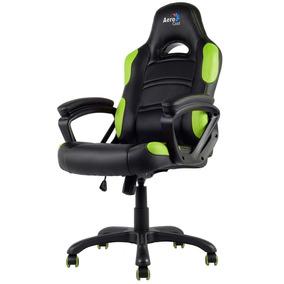 Cadeira Gamer Aerocool Ac80c Preta/verde - En55079