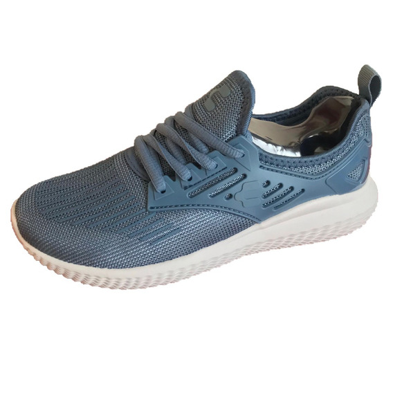 Tenis Charly 1049331 Azul Acero Mujer Casual Deportivo