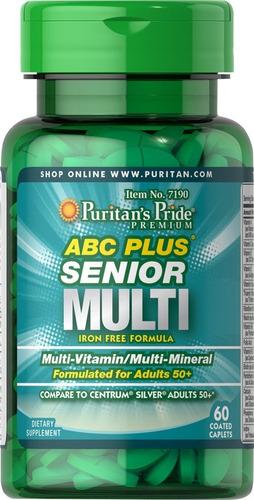 Abc Senior Multivitaminico 60 Table - Unidad a $583