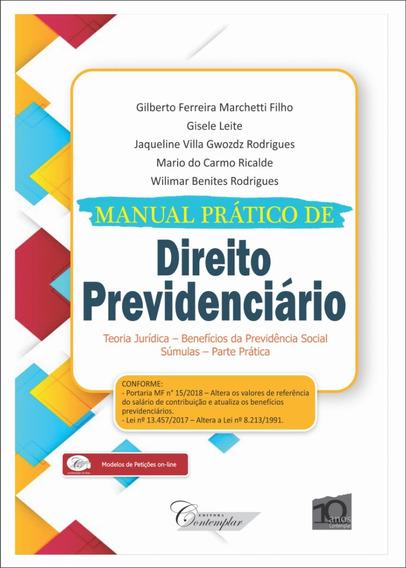 Manual Prático De Direito Previdenciário - Contemplar