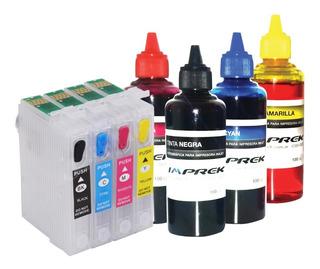 Cartuchos Para Impresora Epson Xp2101 2101 + Tinta Imprek