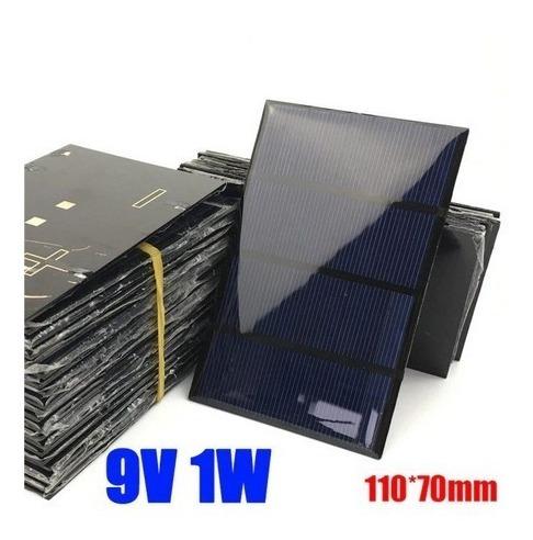 Placa Solar - Painel Fotovoltaica 9v 1w