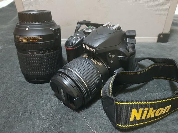 Câmera Fotográfica Nikon D3400 Zera Completíssima