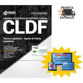 Apostila Cldf 2018 - Câmara Legislativa Df Agente De Polícia